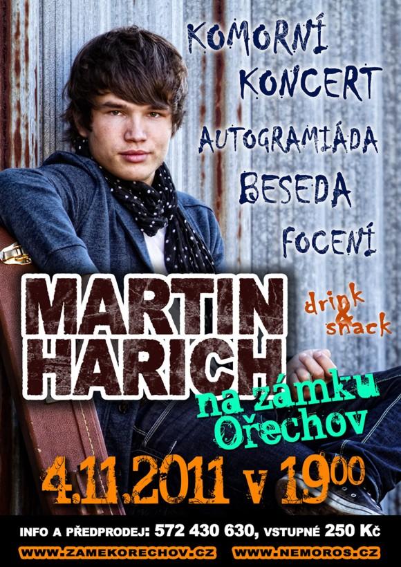 Martin Harich - koncert, autogramiáda, beseda
