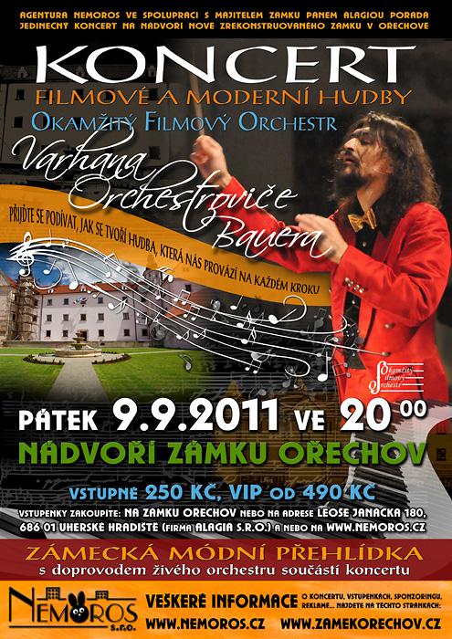 Varhan Orchestrovič Bauer koncert